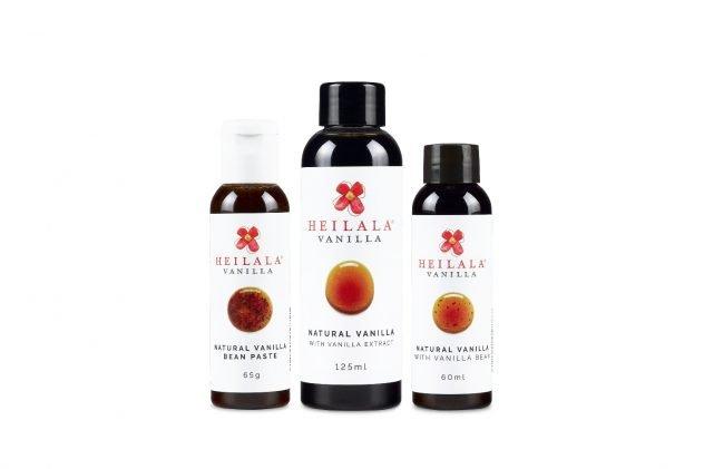 Heilala Vanilla's Extract, Paste, and Powder